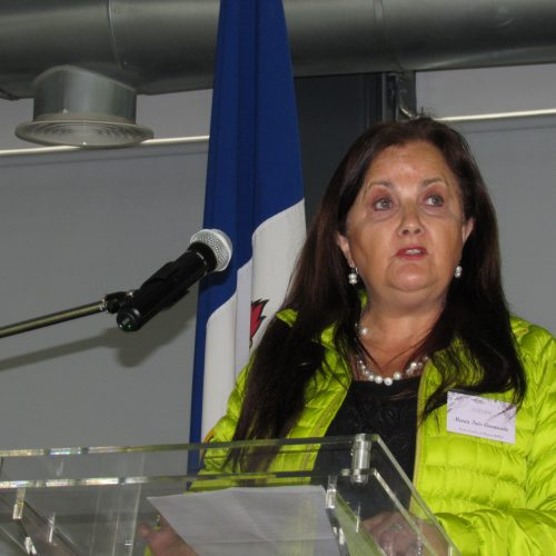 Sra. María Inés Carracedo, primera mujer egresada de Ingeniería Civil Mecánica (1978)