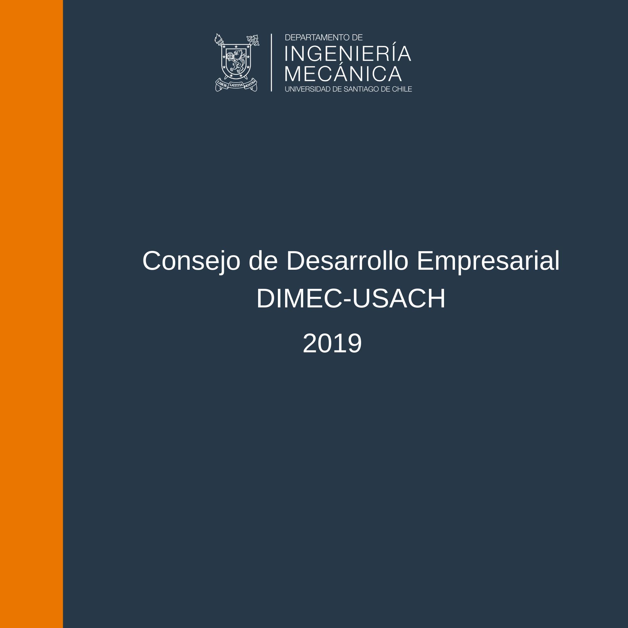 Informe de Gestión 2019 Consejo de Desarrollo Empresarial